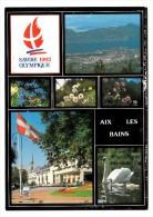 73 - Aix Les Bains - Multi-vues - Savoie 1992 Olympique - Editeur: André N° 73C161 - Aix Les Bains