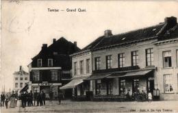4 CP Temse Grote Kaai Hotel Restaurant  Het Anker  Denys- VanRoosmalen  T'Oud Schippershuis    Kaai     Groeten - Temse