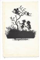 12366 - Morgenfledchen  Engel  Aubade Ange Et Hibou Sur Arbre - Silhouettes
