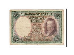 Espagne, 25 Pesetas Type Lopez - 1-2-5-25 Pesetas