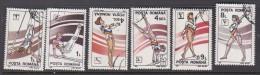 Romania 1991 Gymnastics Set Used - Gymnastics