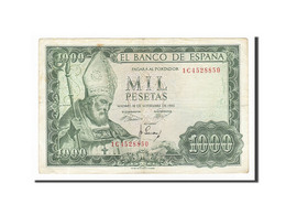 [#156692] Espagne, 1000 Pesetas Type Isidoro - [ 3] 1936-1975 : Régence De Franco