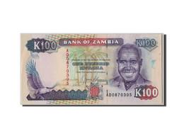 [#305615] Zambie, 100 Kwacha Type Kaunda - Zambia