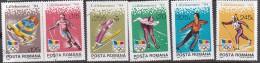 Romania 1994 Winter Olympic Lillehammer Used Set - Winter 1994: Lillehammer