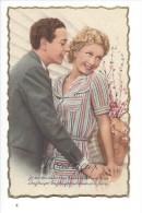 12372 - Nous Deux Je Me Souviens D'un Baiser Dont Mes Lèvres.... - Couples