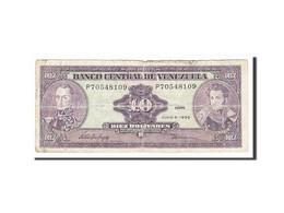 Venezuela, 10 Bolivares Type Bolivar Et Sucre - Venezuela
