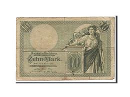 Allemagne, 10 Mark Type 1904-06 - [ 2] 1871-1918 : Impero Tedesco