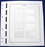 Schaubek 40 Blätter Für Personalisierte Post Modern Marken (quer) 8 Felder - Álbumes & Encuadernaciones
