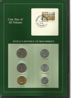 MOZAMBIQUE - Set Of 6 Uncirculated Coins - 50 Centavos To 20 Meticais - 1980, 1982 & 1983 - Monedas Regionales
