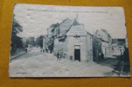Cp  Romilly Sur Seine  Avenue Du Chateau Et Rue Dela Grande Cour - Romilly-sur-Seine
