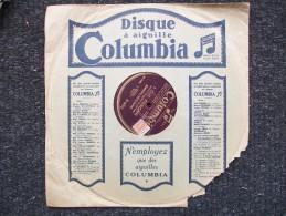 COLUMBIA- I DUE FOSCARI -   ENRICO MOLINARI - 78 T - Disques Pour Gramophone