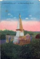 Cpa COURANT 17 Le Monument Aux Morts - Francia