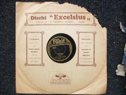 FONIT - TOSCA / MADAMA BUTTERFLY  Soprano LUISA LUCINI - 78 G - Dischi Per Fonografi