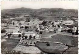 Cpsm Vernoux En Vivarais, Vue Générale Aérienne - Autres Communes