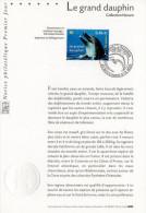 """★ Notice Officielle 1er Jour De 2002 """" LE GRAND DAUPHIN """". N° YT 3486. Parfait état !"""