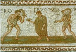 Mosaique Echansons Servant à Boire IIIe S. Ap J.C Oudhna Antique Uthina - Tunisia