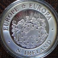 (J) NORTH IRELAND: Silver 25 ECUs 1992 Proof (560) - Colonias