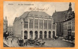 Gorlitz Goerlitz Tram 1913 Postcard - Deutschland