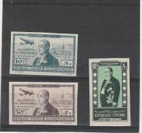 République Syrie - Poste Aérienne-  Essais (neuf )_ N°100/102 - Syrie (1919-1945)