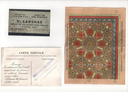 Metal Email Telemail  Lepinay  Cannard Carte Postale Pub  Et Tole - Advertising