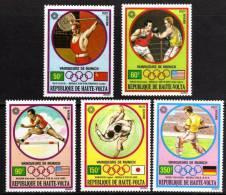 Haute Volta P.A. N° 115 / 19  XX Vainqueurs Aux J.O. De Munich ( II). Les 5 Valeurs Sans Charnière TB - Upper Volta (1958-1984)