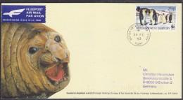 British Antarctic Territory 1993 Signy Postcard Ca 24 Fe 93 (21406) - Brits Antarctisch Territorium  (BAT)