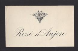 Etiquette De Vin -  Rosé D'Anjou -   ND 60/70 ? - Etiquettes