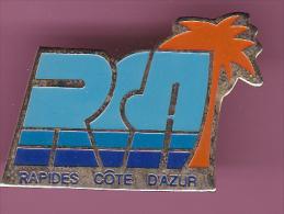 44096-Pin's.transport.Bus.Car. RCA.Rapide Cote D'azur. - Transport