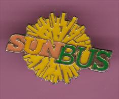 44106-Pin's.transport.Bus.Car. Sun Bus... - Transport