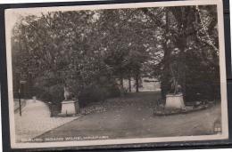 Tilburg Fotokaart Ingang Wilhelminapark RAILWAY CANCEL BOXTEL – Rotterdam 1932 (t19) - Tilburg