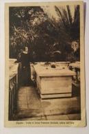 Caprera Tomba Di Donna Francesca Garibaldi Vedova Del L'eroe Del 1928 Viaggiata F.p. - Olbia