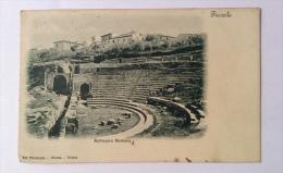 Fiesole Anfiteatro Romano  Viaggiata 1923 F.p. - Firenze