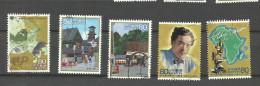 Japon N° 4305, 4308, 4316 à 4318 Cote 3.25 Euros - 1989-... Emperador Akihito (Era Heisei)