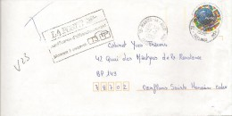 Lettre Du 27/07/1998 Taxée - 1960-.... Storia Postale