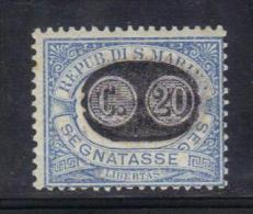 W1613 - SAN MARINO , Segnatasse Mascherine Il N. 35  ***  MNH - Segnatasse