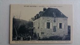 46 Gluges , Chez Beyssen à Copeyre , Devanture Garages Cafe Restaurant - France