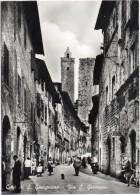 TOSCANA-SIENA-S.GIMIGNANO VIA S.GIOVANNI ANIMATISSIMA ANNI 50/60 - Italia