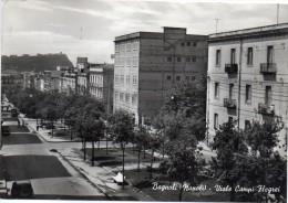 CAMPANIA-NAPOLI-BAGNOLI VEDUTA VIALE CAMPI FLEGREI ANNI/50/60 - Italia