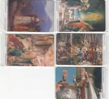 ARMENIA(chip) - Set Of 5 Cards, 1700 Years Christianity In Armenia(ARMEN TEL/OTE), Tirage 20000-40000, 03/01, Mint - Armenien