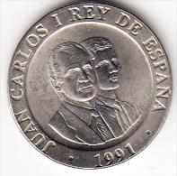 ESPAÑA 1991. 200 PESETAS MADRID CAPITAL CULTURAL EUROPEA  .SIN CIRCULAR.RARA . CN 4303 - [ 5] 1949-… : Royaume