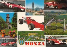 AUTODROMO DI MONZA /  Società Incremento Automobilistico E Sport _  Viaggiata - Taxi & Carrozzelle