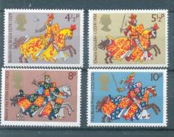 (D1163) Grande Bretage Cavalerie Médievale 1974 - 1952-.... (Elizabeth II)