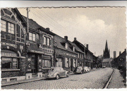 Elverdinge, Ieperstraat, 3 X VW Kever, Käfer, Coccinelle, Café T Hof Van Commerce (pk16574) - Ieper