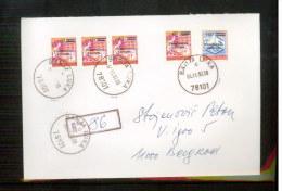 Bosnia And Herzegowina Banja Luka 1992 Registered Letter - Bosnia Herzegovina