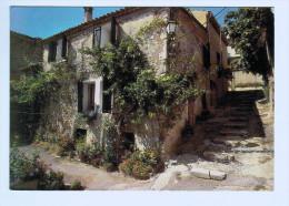 3291   Cpm    GREOUX Les BAINS  : Une Rue Pittoresque Du Village  1982  , PRIX FIXE !!! - Gréoux-les-Bains