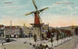 ROTTERDAM Ostplein En Goudsche-Singel, Gel.1911 Von Rotterdam Nach Pola Istrien Austria - Rotterdam