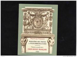 -carnet -1969- Neuf***impeccable  Cote 8  Euros -yvert 2008 N°--2018 - Croix Rouge