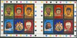 Gibraltar 1979 Int. Jahr Des Kindes Bogen Block 6 Postfrisch (C70021) - Gibraltar
