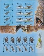 Gibraltar 1999 Kampfflugzeuge Un Greifvögel 880/85 K Postfrisch (C30962) - Gibraltar