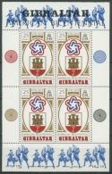 Gibraltar 1976 200 Jahre Unabhängigkeit Der USA Block 2 Postfrisch (C70020) - Gibraltar